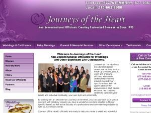 Journeys of the Heart Wedding Officiant Service