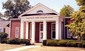 Camellia Hall College Park Woman's Club