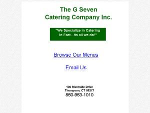 G Seven Caterers
