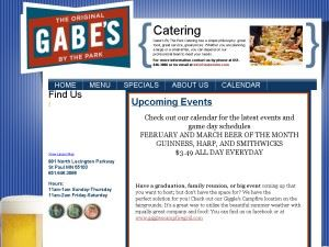 Gabe's Roadhouse Catering