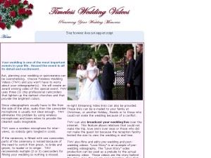 Timeless Wedding Videos