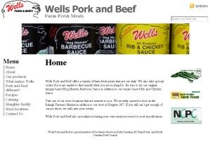 Wells Pork Products