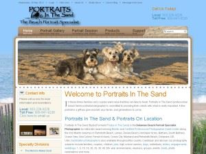 Portraits In The Sand