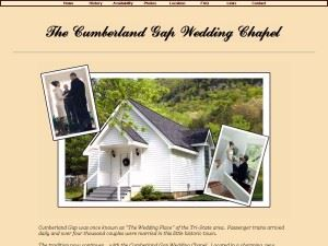 The Cumberland Gap Wedding Chapel