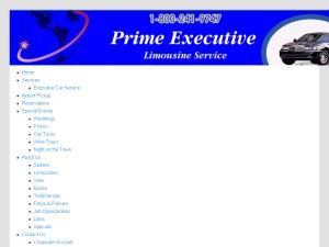 Prime Executive Limousines