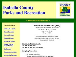 Isabella County Herrick Recreation Area