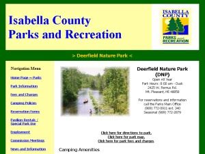 Isabella County Deerfield Nature Park