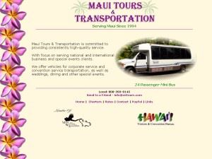 Maui Tours & Transportation