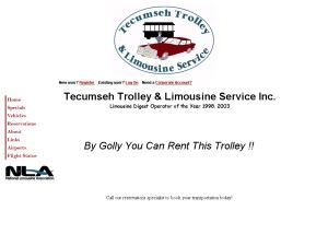 Tecumseh Trolley Company and Limousine Service