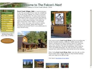 Falcons Nest Cabins