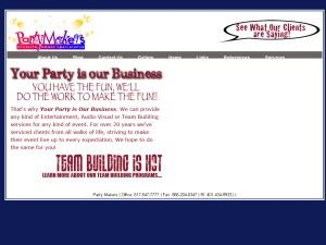Boston Partymakers - Event Planning