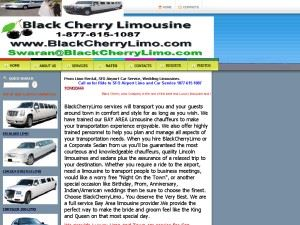 BLACK CHERRY LIMO