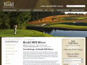 Rodd Mill River Resort
