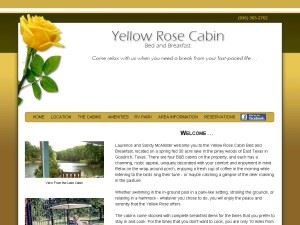 The Yellow Rose Cabin