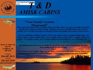 T & D Amisk Cabins
