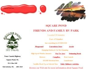 Square Pomd Friends & Family RV Park