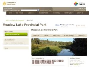 Meadow Lake Provincial Park
