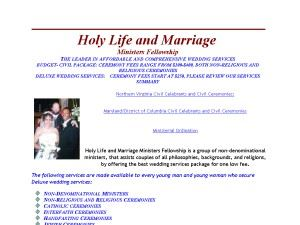 Holy Life and Marriage Ministers Fellowship