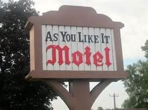As You Like It Motel Stratford