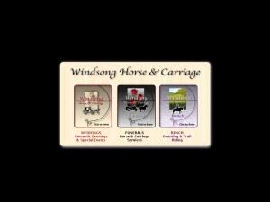 Windsong Horse & Carriage