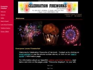 Celebration Fireworks VT .com