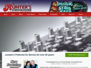 Hunter's Disc Jockey Services