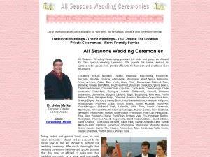 All Seasons Wedding Ceremonies