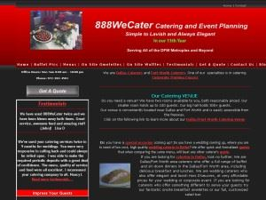 We Cater DFW Catering And Event Planning