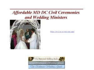 Anne Arundel County Wedding Officiants Office