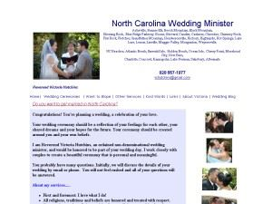 Kannapolis Wedding Minister
