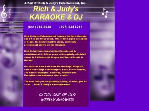 Rich & Judy's Entertainment, Inc.