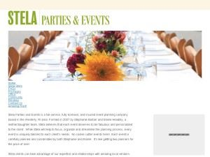Stela Parties and Events