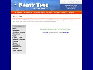 Party Time Sales & Rental
