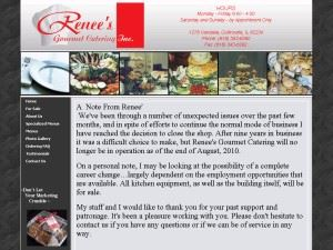 Renee's Gourmet Catering Incorporated