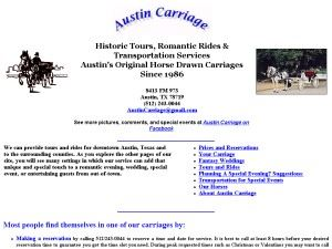 Austin Carriage