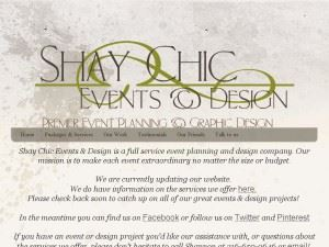 Shay Chic Events