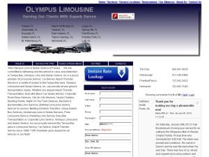 Olympus Limousine and Sedan Service,Inc