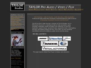 TAYLOR Pro Film and Video Services