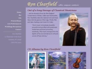Ron Clearfield Cellist