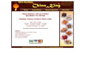 Royal Palm Beach China King