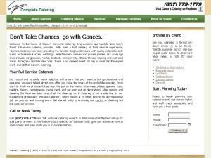 Gances Catering