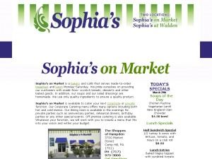 Sophia's On Market