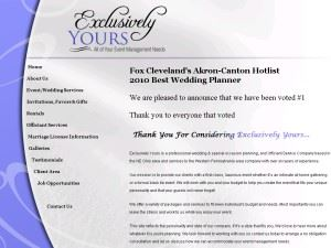 Exclusively Yours - Weddings, Events & Officiants