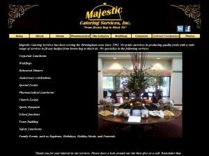 Majestic Catering Services Incorporated