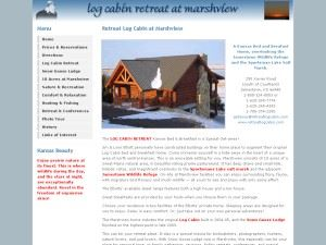 Log Cabin Retreat At Marshview