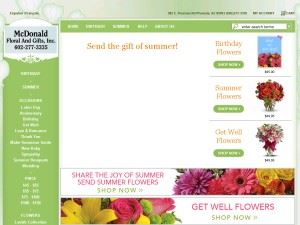 McDonald Floral And Gifts Incorporated