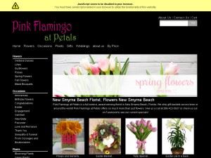 Pink Flamingo at Petals