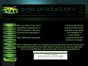 EDJE Productions Mobile Entertainment