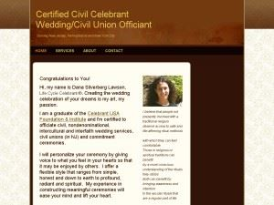 Certified Civil Celebrant Wedding/Civil Union Officient