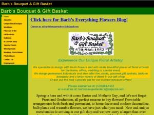 Barb's Bouquet & Gift Basket